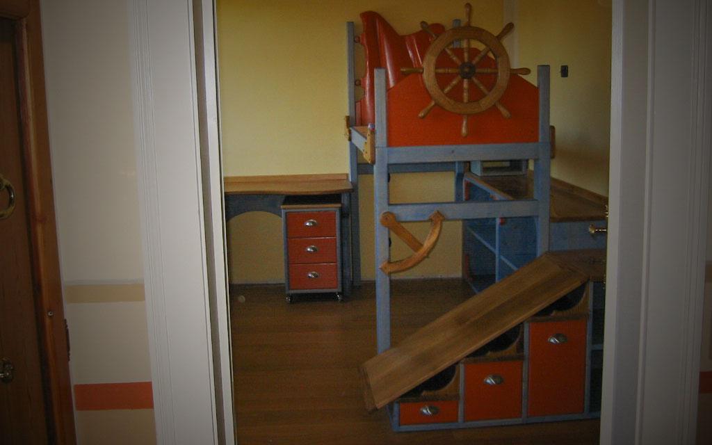 Camerette per bambini su misura falegnameria samuelli - Camerette bambini su misura ...