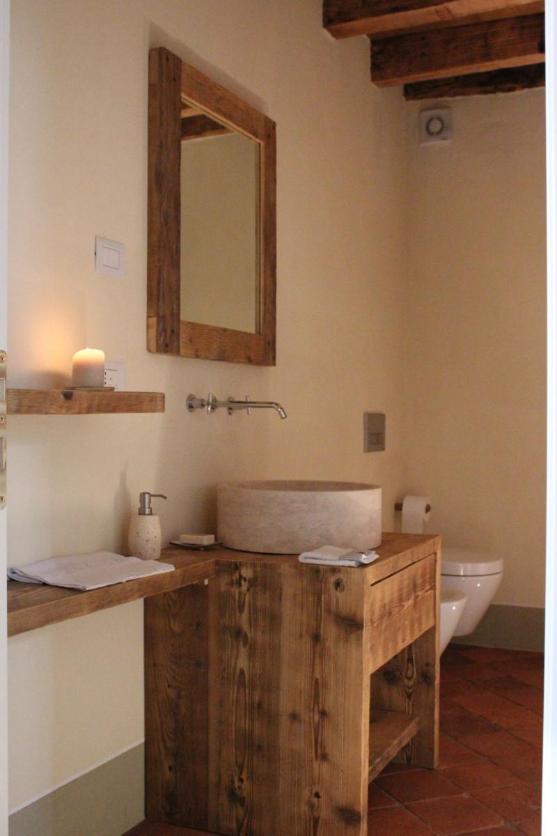 Mobili arredo bagno in legno su misura falegnameria samuelli dello brescia - Mobili da bagno su misura ...