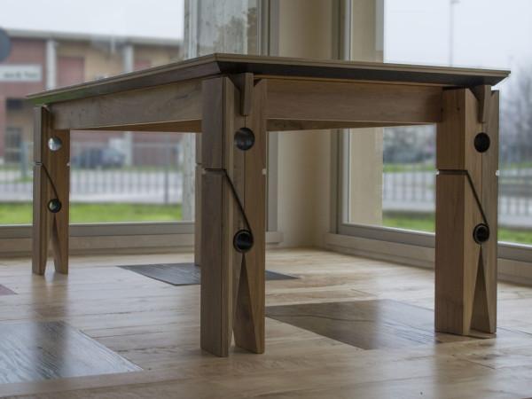 Tavoli falegnameria samuelli for Tavoli in legno per cucina